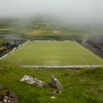 Eidi stadium just by the sea