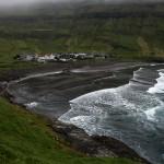 The village of Tjørnuvík